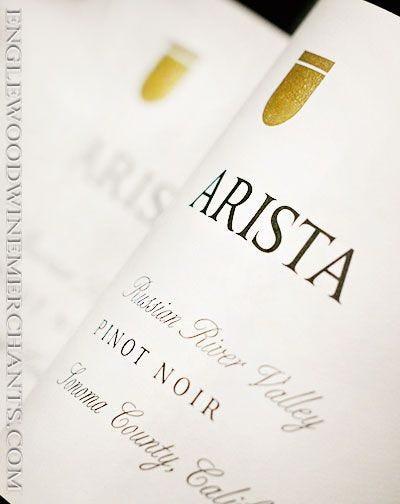 2017 Arista, Russian River Valley, Pinot Noir