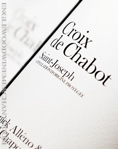 """2017 Yannick Alleno & Michel Chapoutier """"Croix de Chabot"""" Saint Joseph"""