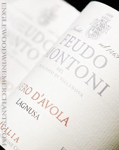 2018 Feudo Montoni, Nero d'Avola, Lagnusa
