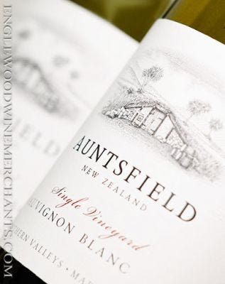 "2019 Auntsfield, ""Single Vineyard"" Sauvignon Blanc, New Zealand"
