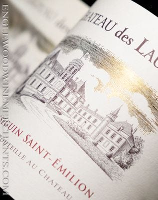 2015 Chateau des Laurets, Puisseguin Saint-Emilion (by Baron Edmond de Rothschild)