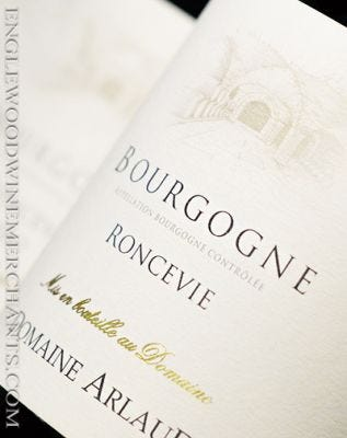 "2019 Domaine Arlaud, ""Roncevie"" Bourgogne"