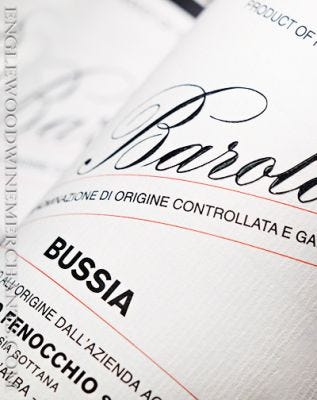 "2016 Giacomo Fenocchio, ""Bussia"" Barolo"