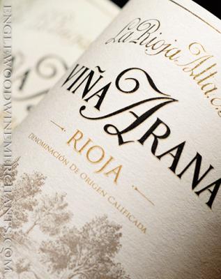 "2014 La Rioja Alta, ""Vina Arana"" Gran Reserva Rioja"