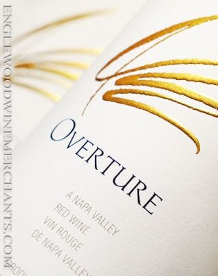 """Opus One, """"Overture"""" Napa Valley"""