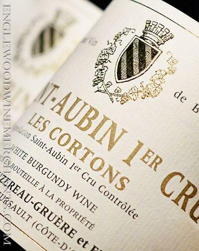 """2015 Hubert Bouzereau-Gruere, 1er Cru """"Les Cortons"""" Saint-Aubin"""