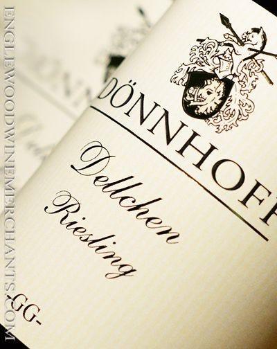 "2018 Donnhoff, ""Dellchen"" Riesling GG"