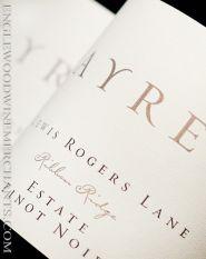 """2017 Ayres, """"Lewis Rogers Lane"""" Ribbon Ridge Pinot Noir, Oregon"""