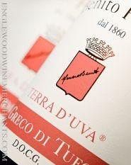 """Benito Ferrara, """"Terra d'Uva"""" Greco di Tufo"""