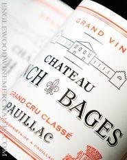 2016 Chateau Lynch Bages, Pauillac, Bordeaux
