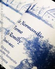 Cidre de Normandie, Ferme de Romilly, Demi-Sec