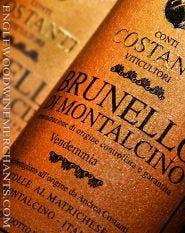 Costanti, Brunello di Montalcino