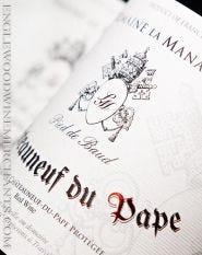 """2016 Domaine La Manarine, Chateauneuf du Pape """"Pied de Baud"""""""