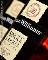 "Evan Williams, Single Barrel Vintage Bourbon ""2011"""