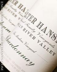 "Walter Hansel, ""The Meadows"" Russian River Chardonnay"