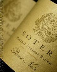 2016 Soter Vineyards, Mineral Springs Ranch Pinot Noir