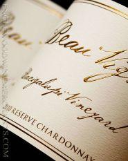 Beau Vigne, Reserve Chardonnay