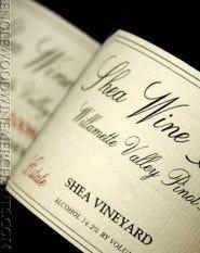 Shea Vineyard, Pinot Noir