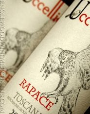 """2016 Uccelliera, """"Rapace"""" Super Tuscan"""