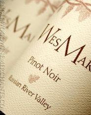 WesMar Winery, Pinot Noir