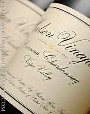 2016 Hudson Vineyards, Chardonnay