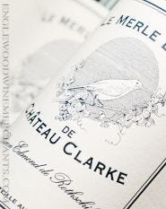 2018 Le Merle Blanc de Chateau Clarke