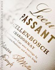 2016 Leeu Passant, Stellenbosch Chardonnay