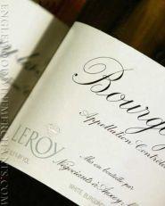 2017 Leroy, Bourgogne Blanc