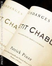 "2018 Patrick Piuze, ""Petit Chablis"" Burgundy"