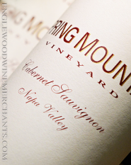 2016 Spring Mountain, Estate Cabernet Sauvignon, Napa