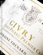 """Domaine Thenard, 1er Cru Givry """"Clos Saint-Pierre"""" Monopole"""